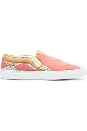 Emilio Pucci Slip-On-Sneakers mit Print