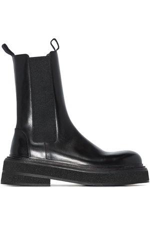 MARSÈLL Damen Stiefeletten - Zuccone leather ankle boots
