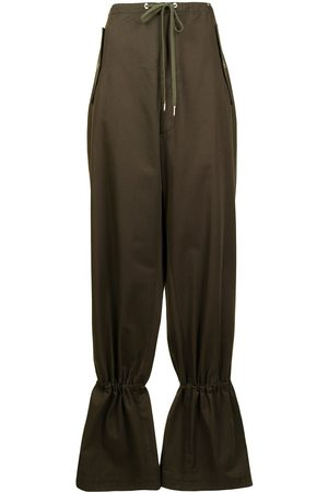 DION LEE Damen Hosen & Jeans - Tapered-Hose mit Kordelzug