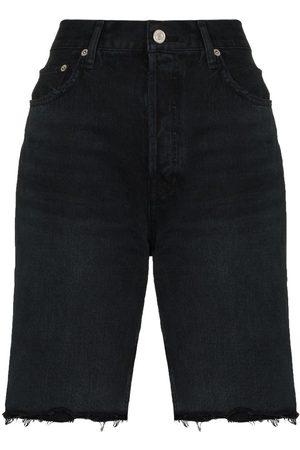 AGOLDE Knielange Jeans-Shorts