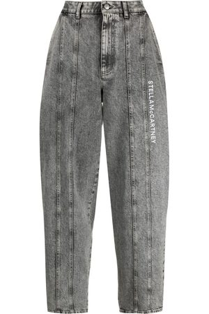 Stella McCartney Damen Tapered - Jeans mit Logo