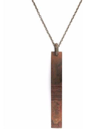 PARTS OF FOUR Halsketten - Halskette mit Schildanhänger