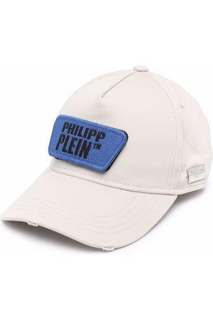 Philipp Plein Hüte - Baseballkappe im Distressed-Look