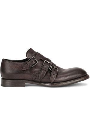 Dolce & Gabbana Herren Elegante Schuhe - Distressed-Schuhe