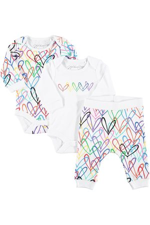 From Babies With Love X James Goldcrown Lovewall Jogginganzug-Set mit Bodys