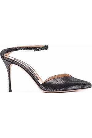 Sergio Rossi Damen Sandalen - Godiva leather sandals