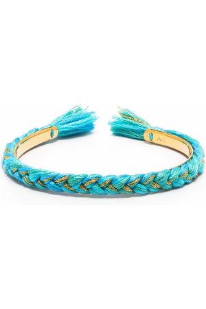 Aurélie Bidermann Damen Armbänder - Schmale Copacabana Armspange mit Flechtdetail