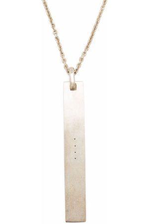 PARTS OF FOUR Halskette mit Schildanhänger
