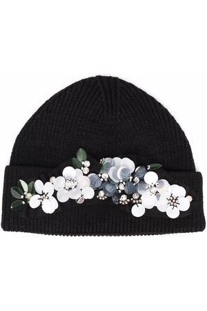 MONNALISA Mütze mit Blumenapplikation