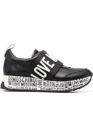 Love Moschino Damen Sneakers - Slip-On-Sneakers mit Logo