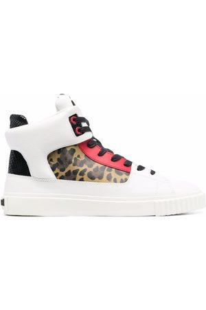 Roberto Cavalli Damen Sneakers - Sneakers mit Kontrasteinsätzen