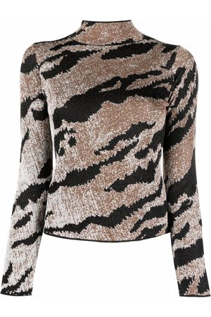 Roberto Cavalli Animal knit jumper