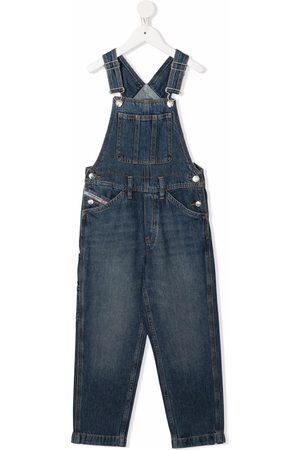 Diesel Klassische Jeans-Latzhose