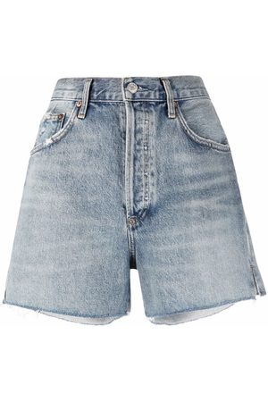 AGOLDE Jeans-Shorts im Distressed-Look