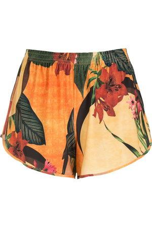 Lygia & Nanny Damen Shorts - Shorts mit Blumen-Print
