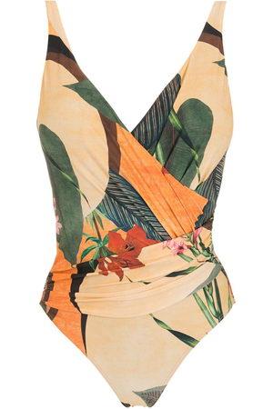 Lygia & Nanny Badeanzug mit tropischem Print