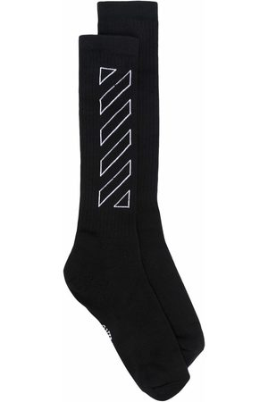 OFF-WHITE Socken & Strümpfe - Socken mit diagonalen Streifen