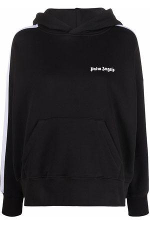 Palm Angels Damen Sweatshirts - Hoodie mit Logo-Print