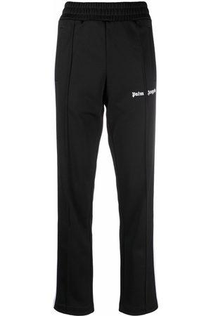 Palm Angels Damen Jogginghosen - CLASSIC TRACK PANTS BLACK WHITE