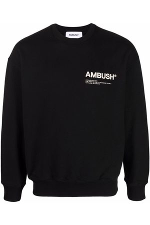 AMBUSH FLEECE WORKSHOP CREWNECK BLACK TOFU