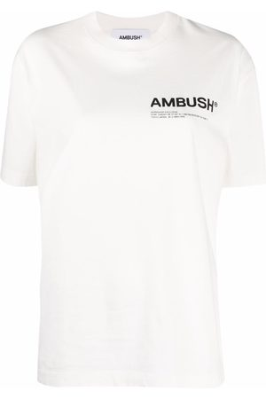 AMBUSH Damen Shirts - JERSEY WORKSHOP T-SHIRT TOFU BLACK