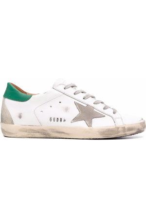 Golden Goose Damen Sneakers - Superstar Sneakers im Used-Look