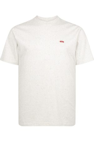 Supreme Shirts - T-Shirt mit kleinem Logo - Nude