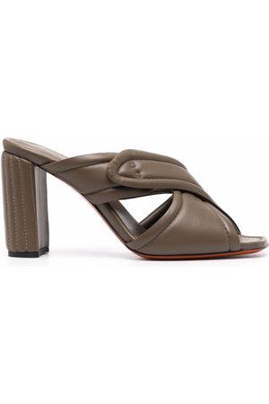 santoni Crossover high-heel mules