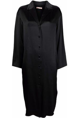 12 STOREEZ Hemdkleid aus Satin