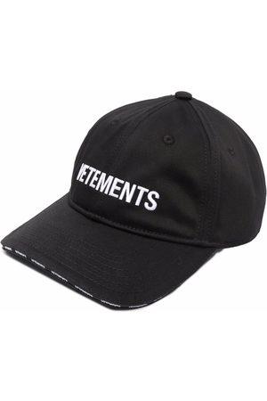 Vetements Hüte - Baseballkappe mit Logo-Stickerei