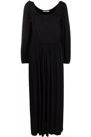 Yves Saint Laurent 1970s Kleid mit langen Ärmeln