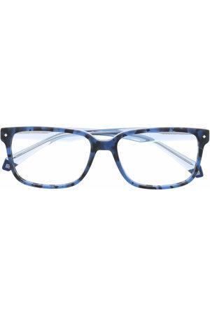 Polaroid Brille mit breitem Gestell