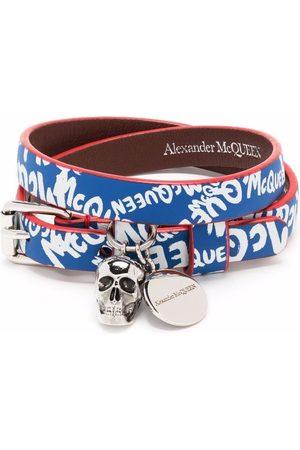 Alexander McQueen Armband mit Logo