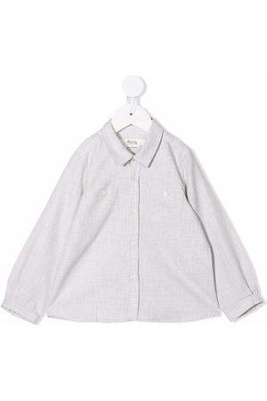 BONPOINT Mädchen Blusen - Hemd mit Brusttaschen - Nude