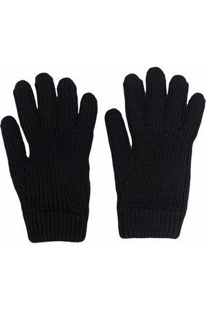 Prada Gestrickte Handschuhe mit Logo-Tasche
