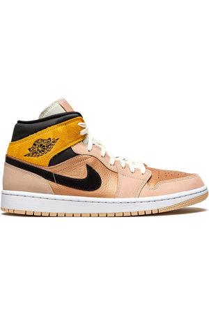 Jordan Air 1 Mid Sneakers - Nude