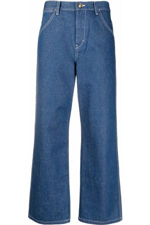 Tory Burch Weite Cropped-Jeans