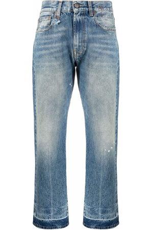 R13 Jeans mit geradem Bein