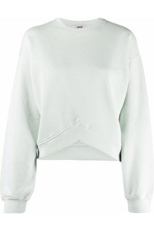 AGOLDE Sweatshirt mit rundem Ausschnitt