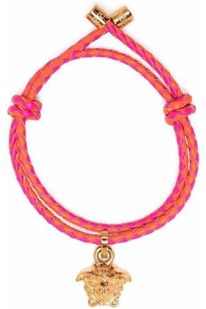 VERSACE Geflochtenes Armband mit Medusa-Anhänger