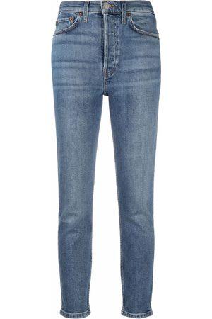 RE/DONE Damen Skinny - Skinny-Jeans