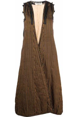 A.N.G.E.L.O. Vintage Cult 1970s striped sleeveless coat