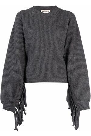 SEMICOUTURE Pullover mit Fransen