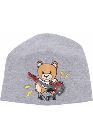 Moschino Beanie mit Teddy-Print