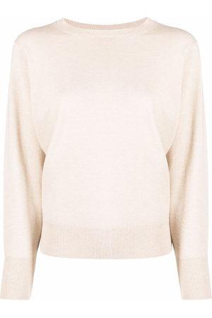 PESERICO SIGN Pullover mit rundem Ausschnitt - Nude