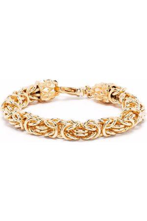 EMANUELE BICOCCHI Vergoldetes Byzantiner-Kettenarmband