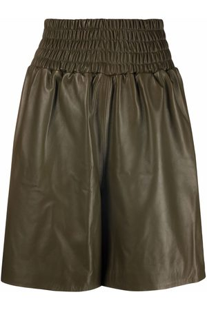 Manokhi Shorts aus Leder