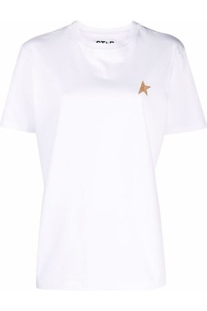 Golden Goose White Star Collection T-Shirt