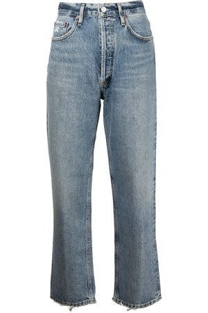 AGOLDE Lana cropped straight-leg jeans