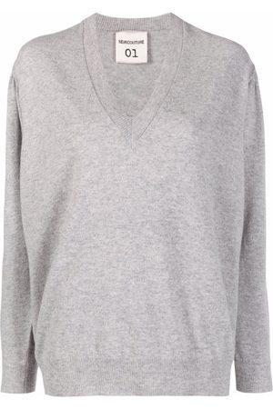 SEMICOUTURE Pullover V-neck jumper